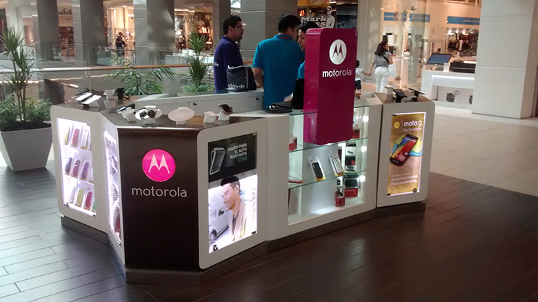 Mostrador Motorola