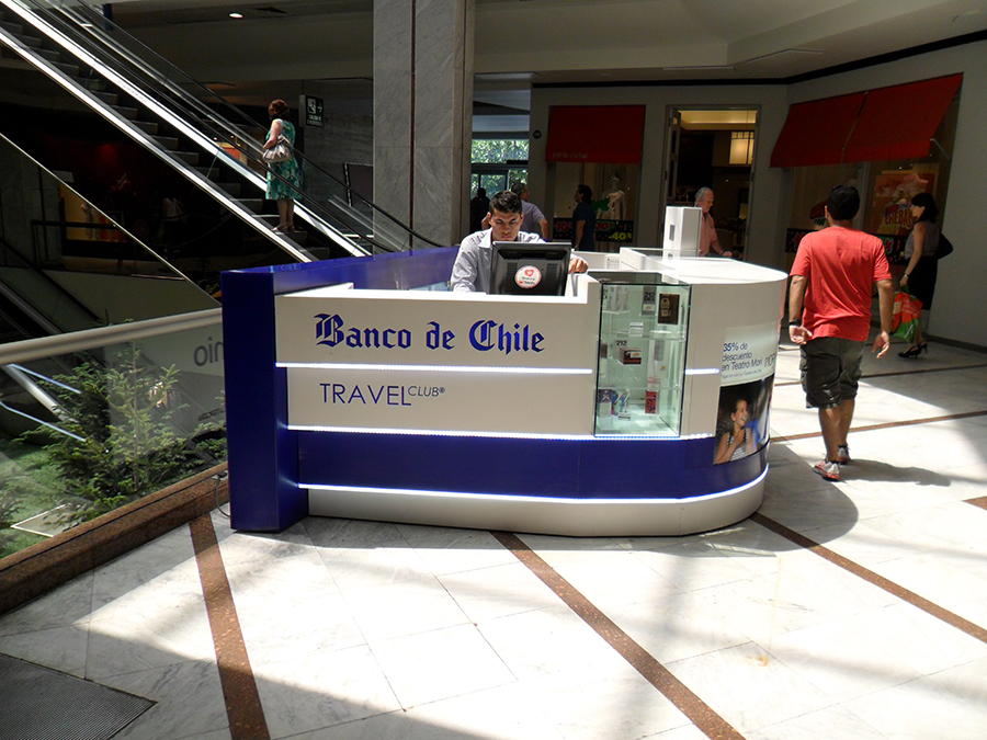 Banco de Chile – Countertop